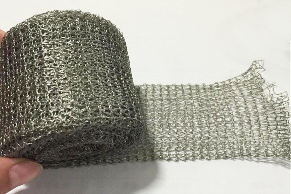 knitted mesh tapes